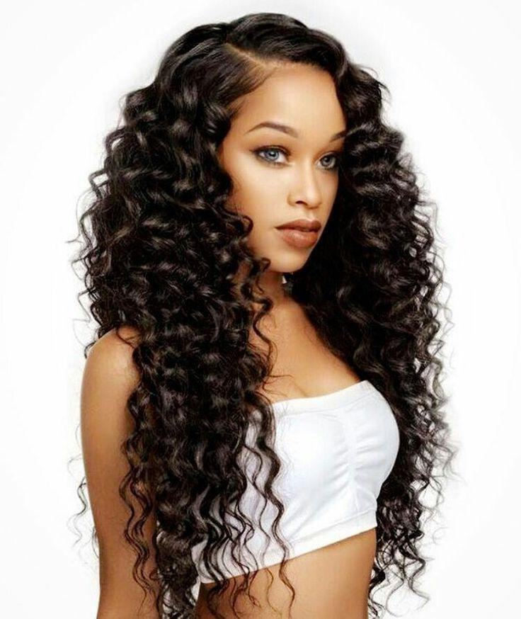 Cute Long Hairstyles For Black Womens – Hairstyles Ideas In Cute Long Hairstyles For Black Women (View 11 of 25)