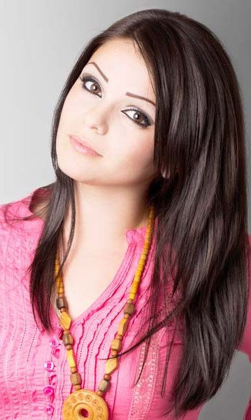 Cute Long Thick Layered Hairstyles For Straight Hair Women With Intended For Cute Long Hairstyles For Round Faces (View 10 of 25)