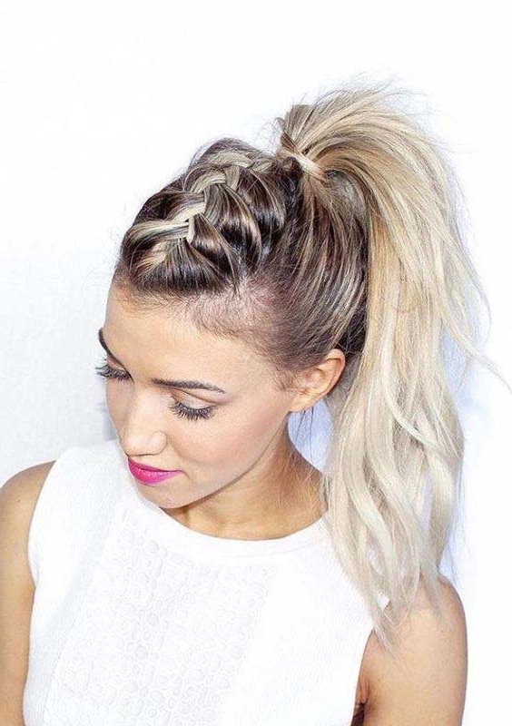 Cute Ponytail Hairstyles For Long Hair | Images Best Collection On with regard to Long Hairstyles In A Ponytail