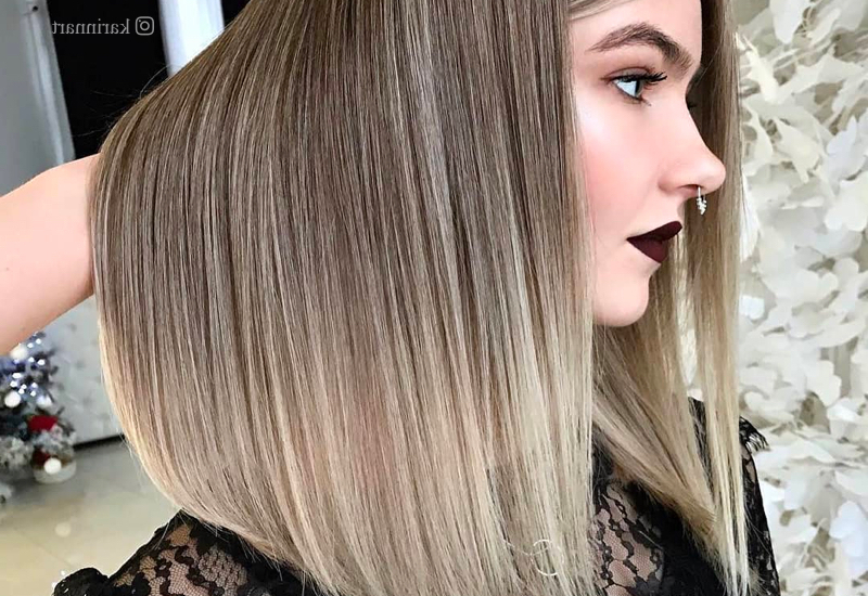 Dark Blonde Is The Easy Color Trend Of 2019: The 19 Hottest Looks With Regard To Dark Blonde Long Hairstyles (View 19 of 25)