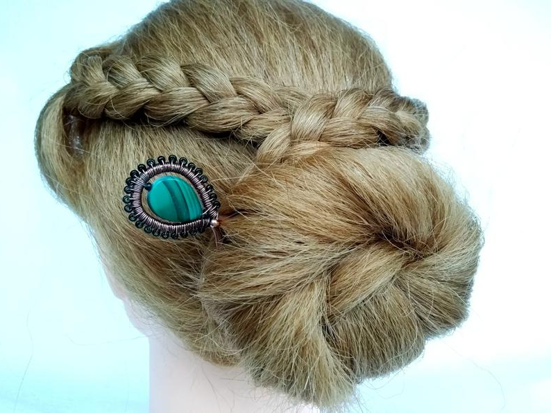 Decorative Hair Pin Hair Clips For Long Hair Decorative Hair | Etsy in Hair Clips For Thick Long Hair