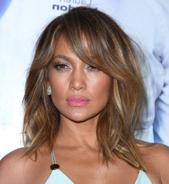 Degrade Mi Long Frange Jennifer Lopez | Hair | Hair, Hair Styles Inside Long Hairstyles Jennifer Lopez (View 3 of 25)