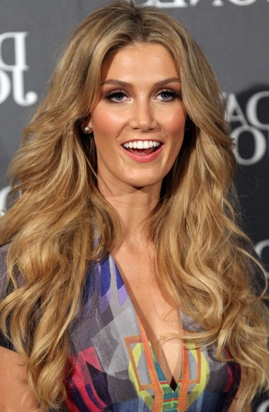 Delta Goodrem Hairstyles 2014 Voluminous Long Curls | Girls Hair Ideas Intended For Long Voluminous Hairstyles (View 13 of 25)