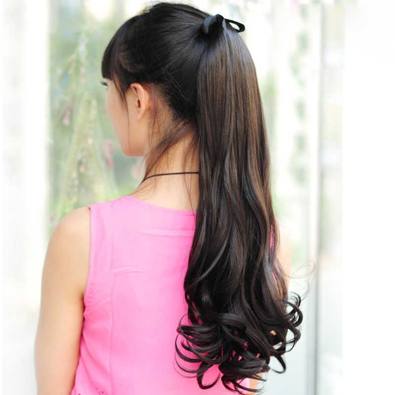 Detail Feedback Questions About Allaosify Long Wavy Ponytail intended for Long Hairstyles Extensions