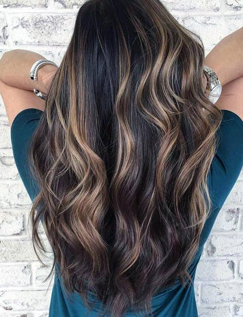 Difference Between Highlights And Lowlights with regard to Long Hairstyles Highlights And Lowlights