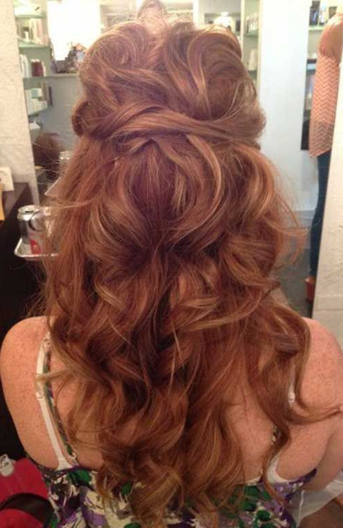 Different Hairstyles For Evening Parties | Gorgeous Hair | Curly throughout Long Hairstyles For A Party