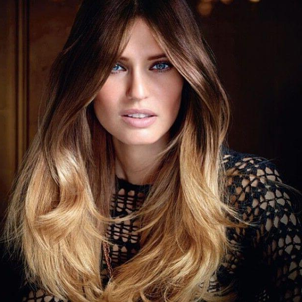 Dip Dye: A Bold, Trendy, And Edgy Hairstyle with regard to Long Hairstyles Dip Dye