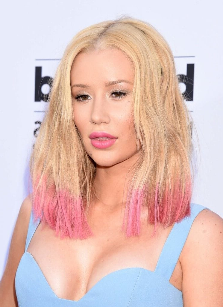 Dip-Dyed Hair Ideas: Our Favourite A-List Looks Gallery | All Things pertaining to Long Hairstyles Dip Dye