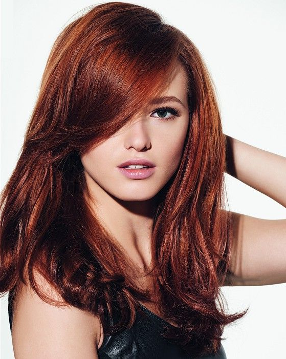Discover The Hottest Hair Color Trends Of The Moment | Projects To in Red Long Hairstyles