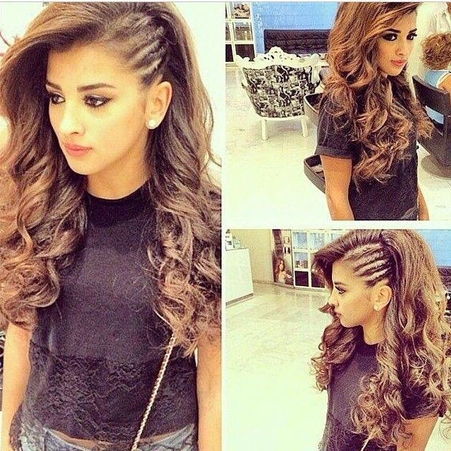 Don't Know What To Do With Your Hair: Check Out This Trendy Ghana Regarding Double Twist And Curls To One Side Prom Hairstyles (View 15 of 25)
