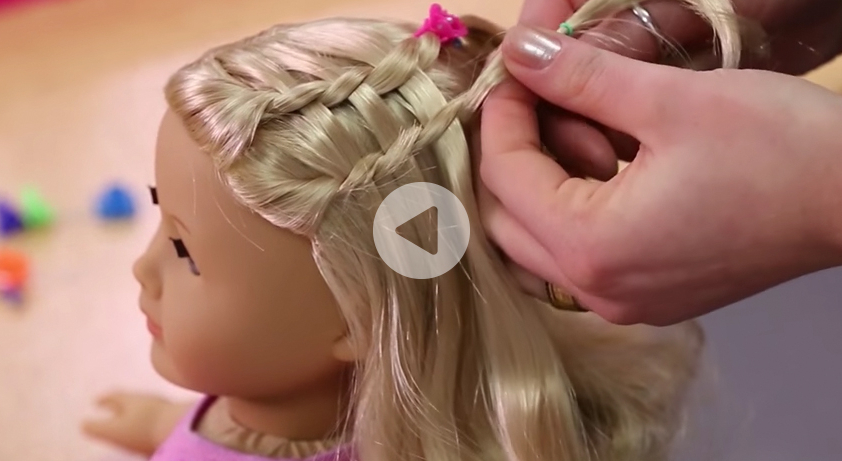 Dos & Dolls: Fun American Girl Hairstyles For Your Girl And Her Doll pertaining to Cute Hairstyles For American Girl Dolls With Long Hair