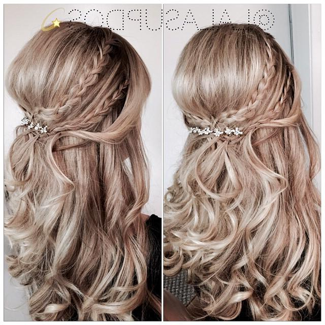 Double Crown Braids within Double Crown Braid Prom Hairstyles