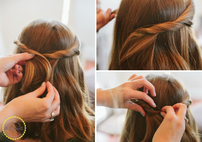 Easy Bobby Pin Hairstyles | Zest It Up Pertaining To Long Hairstyles Using Bobby Pins (View 10 of 25)