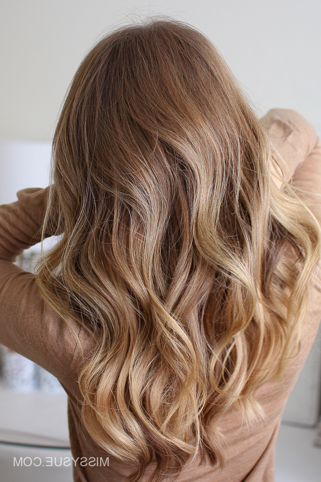 Easy, Everyday Curls   Missy Sue With Everyday Loose Wavy Curls For Long Hairstyles (View 17 of 25)