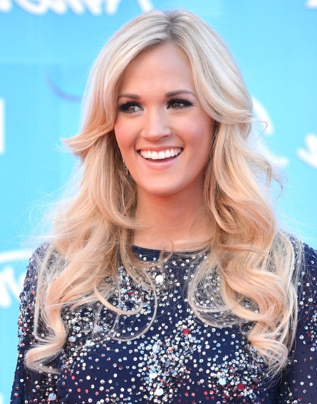 Easy, Long Haircuts For Curls Hair – Popular Haircuts Pertaining To Carrie Underwood Long Hairstyles (View 20 of 25)