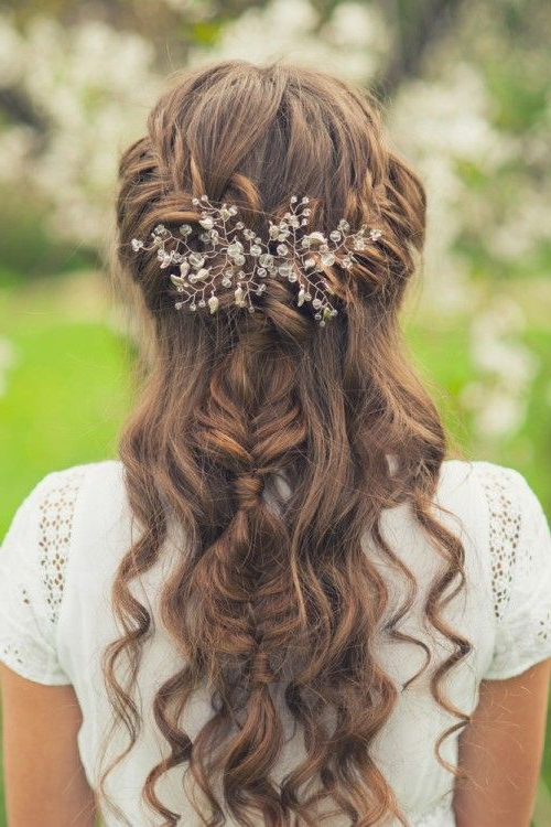 Easy Prom Hairstyles For Long Hair To Do At Home | Wedding Hair In Inside Long Hairstyles At Home (View 4 of 25)