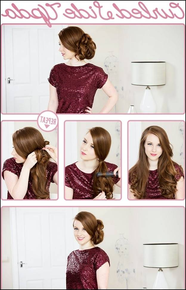 Easy Vintage Hairstyles For Long Hair – Curlyhairstyles (View 20 of 25)