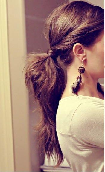 Easy Work Hairstyles | Hair | Hair, Cute Ponytail Hairstyles Pertaining To Long Hairstyles For Work (View 20 of 25)