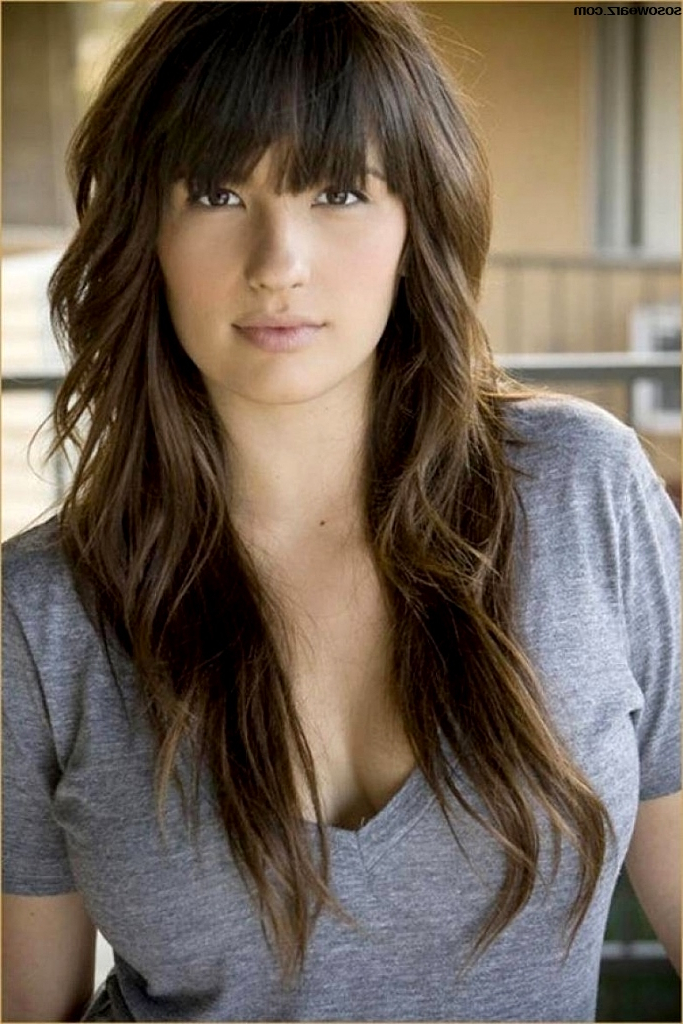 Edgy Long Haircuts With Bangs Cool Edgy Long Haircuts With Bangs With Regard To Edgy Long Haircuts (View 18 of 25)