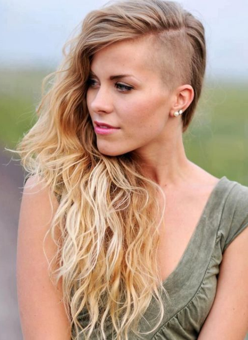 Edgy Undercut Long Hairstyles For Fine Hair 2015 | Hair Dids Intended For Long Hairstyles Edgy (View 6 of 25)