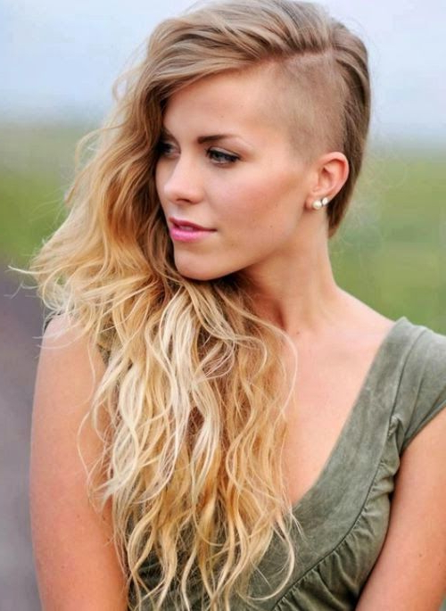 Edgy Undercut Long Hairstyles For Fine  Hair | Me (View 22 of 25)
