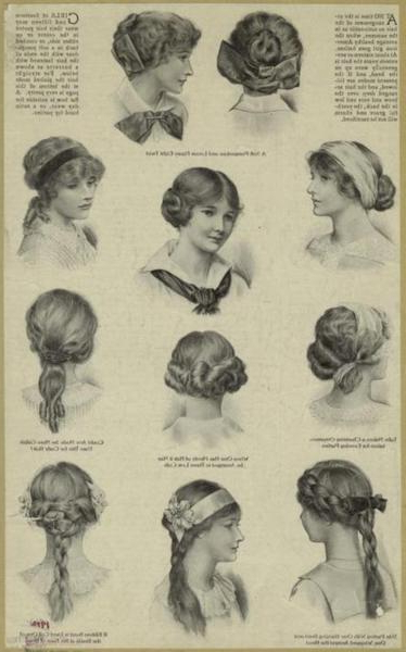 Edwardian Era Hairstyles For Long Victorian Hairstyles (View 24 of 25)