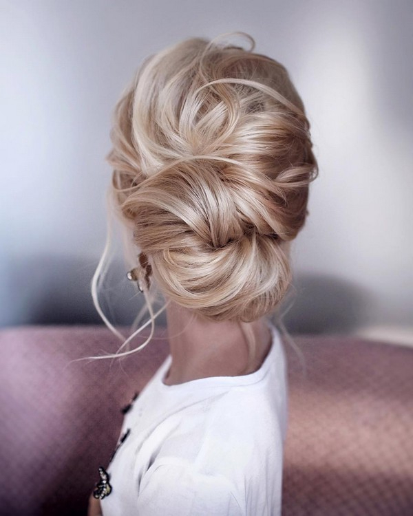 Elegant Twist Updo Wedding Hairstyle – Oh Best Day Ever In Elegant Twist Updo Prom Hairstyles (View 22 of 25)