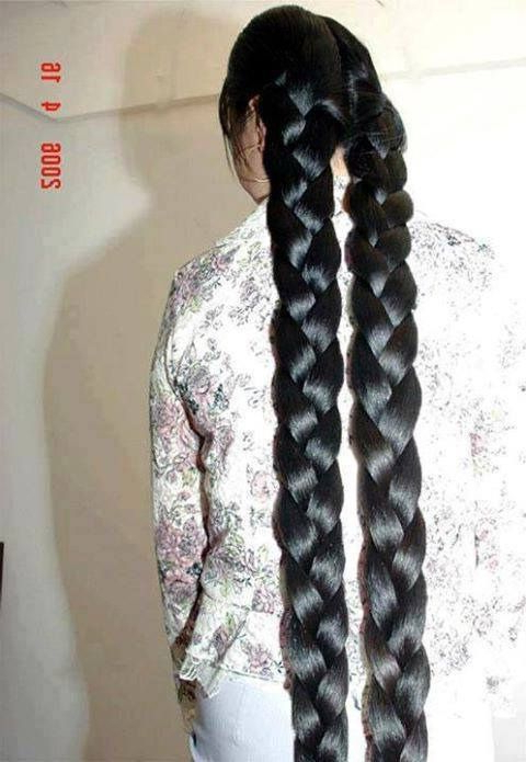 Elephant Braids! Must Be Amazingly Thick Unbraided (View 22 of 25)