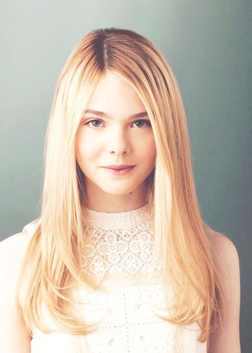 Elle Fanning   Girl Crushes   Cute Girls Hairstyles, Girl Hairstyles Intended For Long Hairstyles Elle (View 24 of 25)