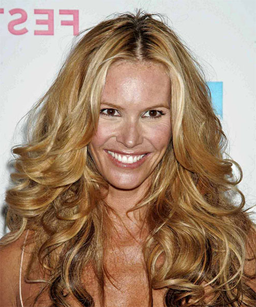 Elle Macpherson Formal Long Wavy Hairstyle Throughout Long Hairstyles Elle (View 10 of 25)