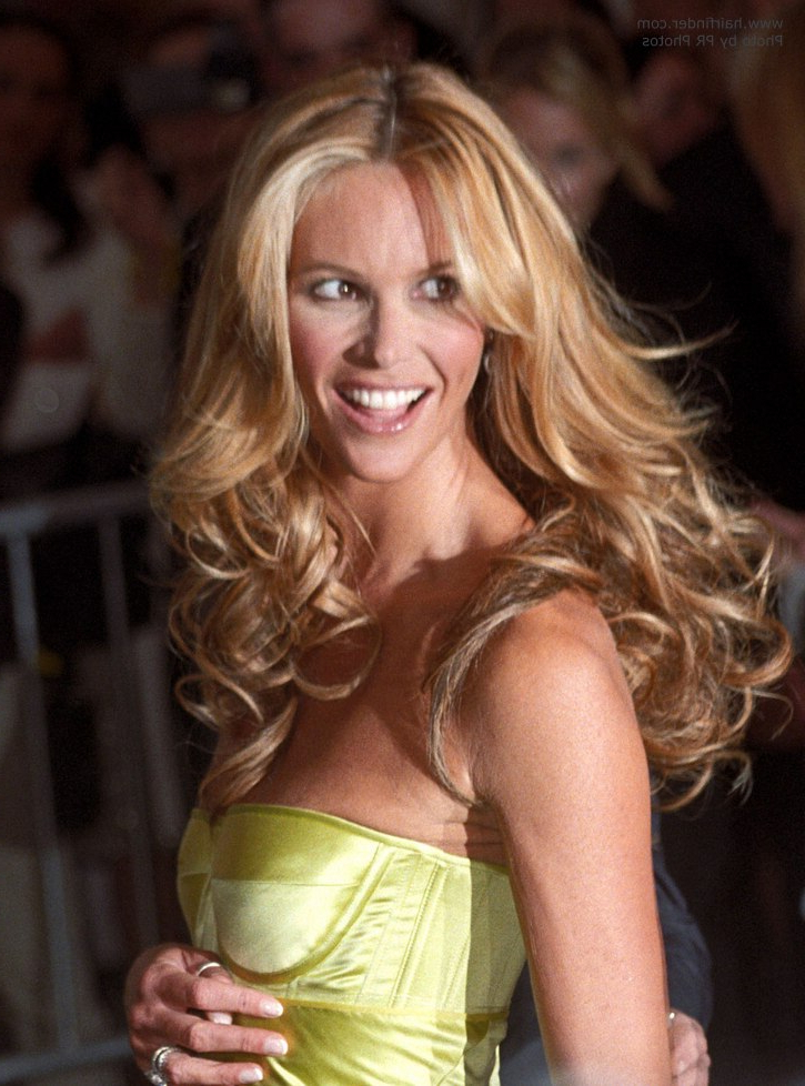 Elle Macpherson   Long Middle Of The Back Hairstyle With Waves And Curls Inside Long Hairstyles Elle (View 8 of 25)