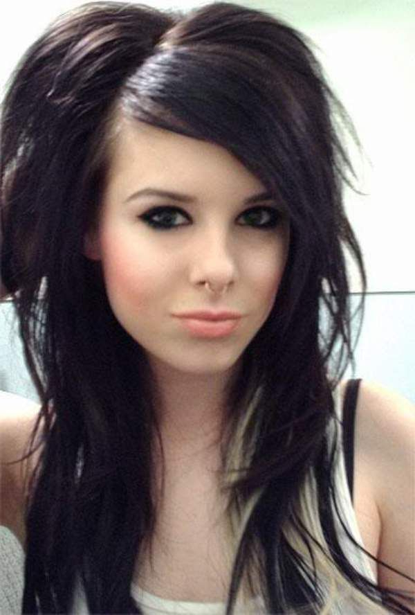 Emo Hairstyles | Emo Haircuts For Girls With Long Hair And Bangs In Long Emo Hairstyles (View 15 of 25)