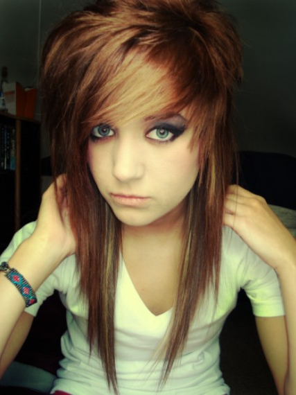 Emo Hairstyles For Girls – Latest Popular Emo Girls' Haircuts With Regard To Emo Long Hairstyles (View 11 of 25)