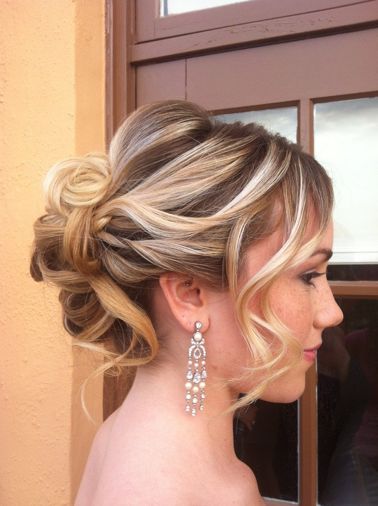 Every High School Girl Should Try These Prom Updos For Long Hair With Fishtailed Snail Bun Prom Hairstyles (View 21 of 25)