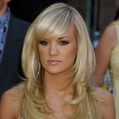Everything About Hairstyles: Carrie Underwood Populer Hairstyles With Carrie Underwood Long Hairstyles (View 21 of 25)