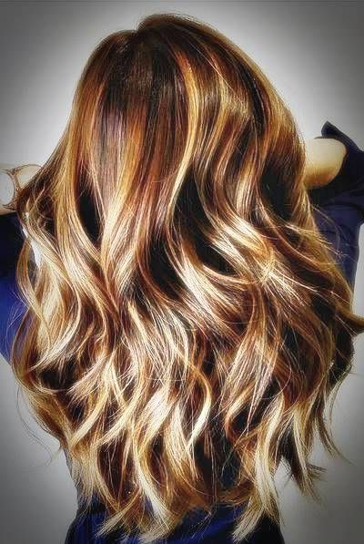 Fabulous Ideas For Brown Hair With Highlights 2019 | Brown Ombré Regarding Long Layered Ombre Hairstyles (View 18 of 25)