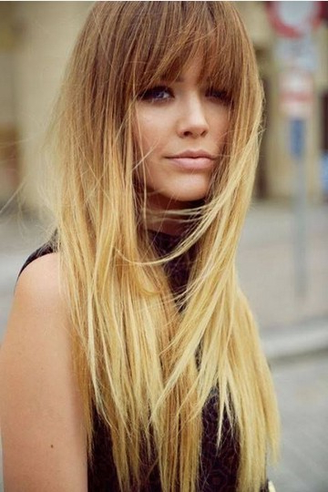 Fabulous Long Straight Hairstyles With Layers - Pretty Designs with regard to Long Hairstyles With Straight Bangs