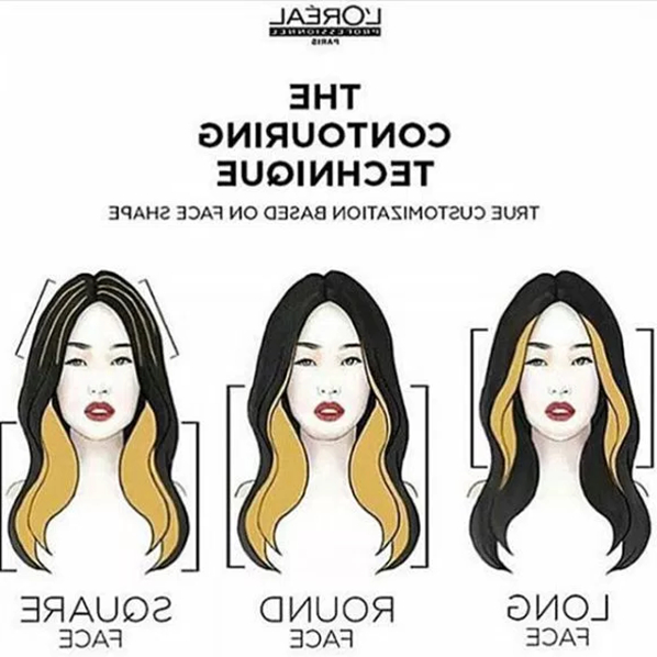 Face Contouring With Balayage? Yeah, It's A Thing! – Behindthechair Regarding Long Dark Hairstyles With Blonde Contour Balayage (View 20 of 25)