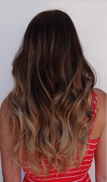 Fantastic Ombre Hairstyles For Long Wavy Hair - Pretty Designs pertaining to Layered Ombre For Long Hairstyles