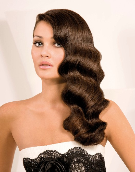 Finger Waves Hairstyle For Long Hair – Hairstyles Weekly Intended For Long Waves Hairstyles (View 19 of 25)