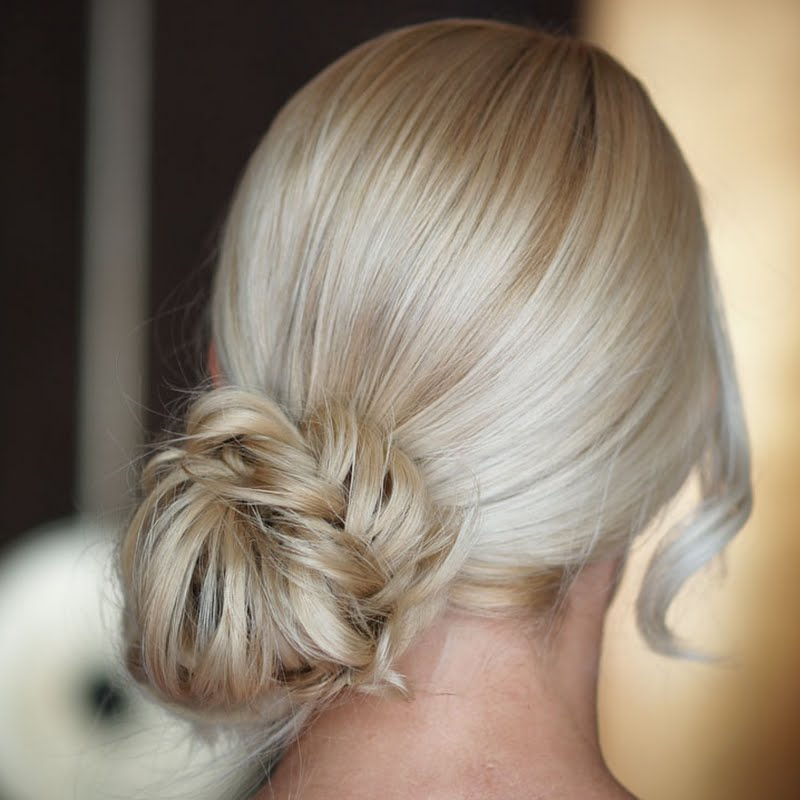 Fishtail Messy Bunlisa A | Preen with Fishtailed Snail Bun Prom Hairstyles