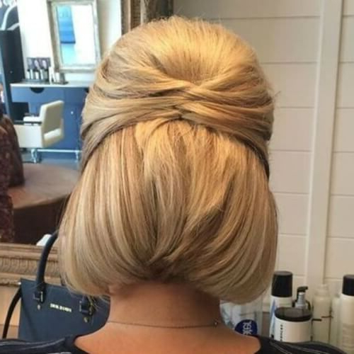 Formal Hairstyles For Bobs | Hair I Wish I Had In 2019 | Short Hair Pertaining To Bobbing Along Prom Hairstyles (View 4 of 25)