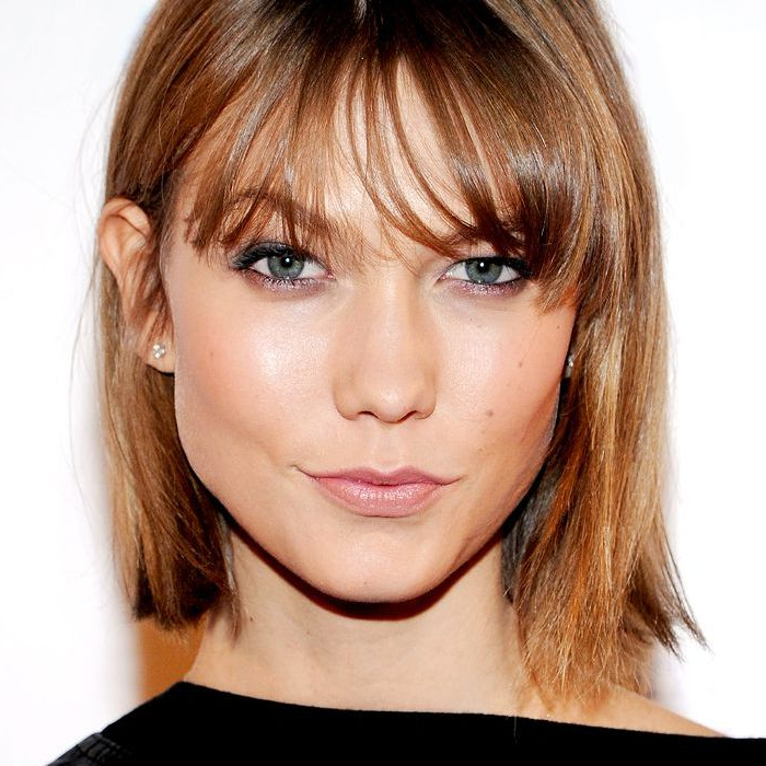 Found: 15 Super Flattering Bobbed Hairstyles For Fine Hair Inside Haircuts For Long Fine Hair With Bangs (View 9 of 25)