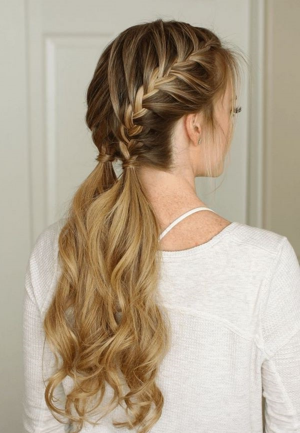 French Braid Hairstyles – Beautiful Hairdos For Long Short And Pertaining To Casual Braids For Long Hair (View 8 of 25)