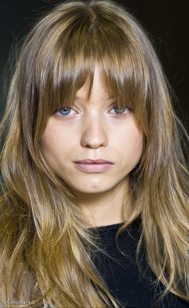 Fringe Benefits: Long Rounded Eye Framing Bangs Throughout Long Hairstyles With A Fringe (View 15 of 25)