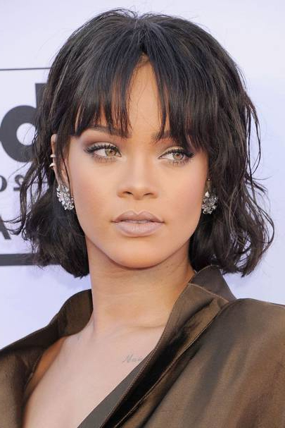 Fringe Hairstyles 2019 | British Vogue with Long Hairstyles Vogue