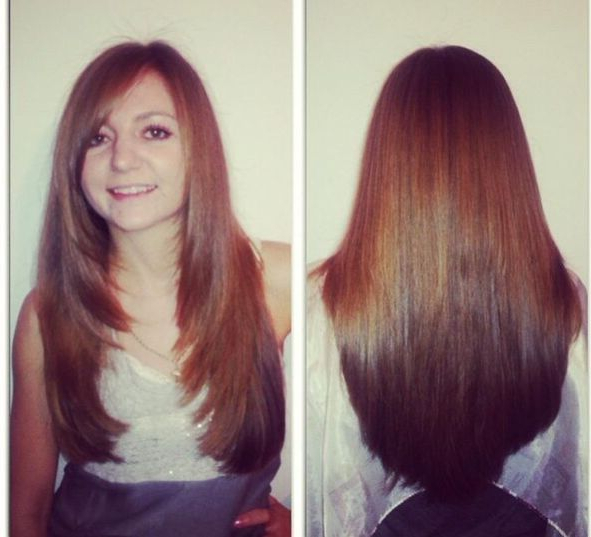 Front And Back View Long Layers | Long Layers | Long Hair Styles With Regard To Long Hairstyles Layered In Front (View 2 of 25)