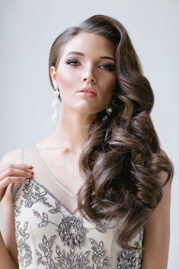 Full On Glamour: Timeless Wedding Hairstyles - Modwedding with Long Hairstyles Glamour