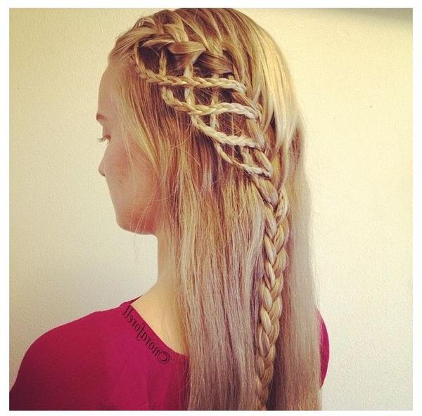 Geflochtene Frisuren Für Langes Haar - Trend Frisuren 2018 with Cute Braiding Hairstyles For Long Hair
