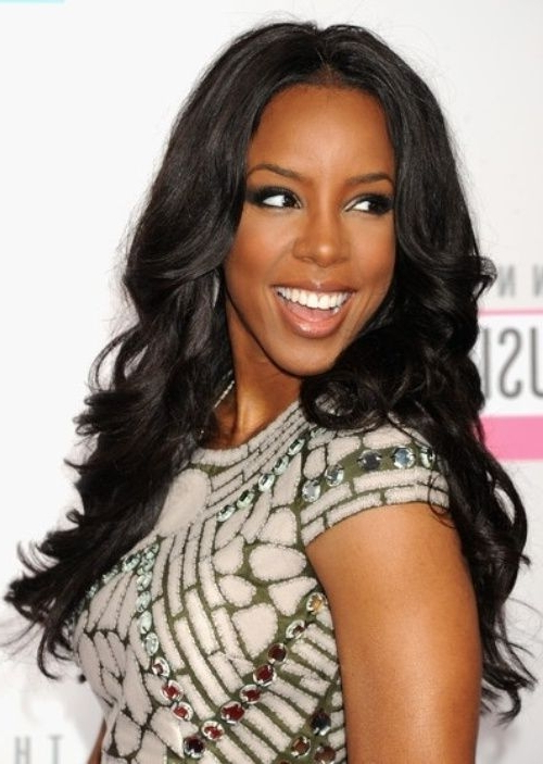 Glamorous 13 Long Hairstyles For Black Women 2016 2017 – Hairstyles Inside Long Layered Hairstyles For Black Women (View 7 of 25)
